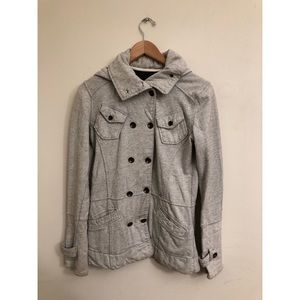 Hurley - Women's Grey Peacoat